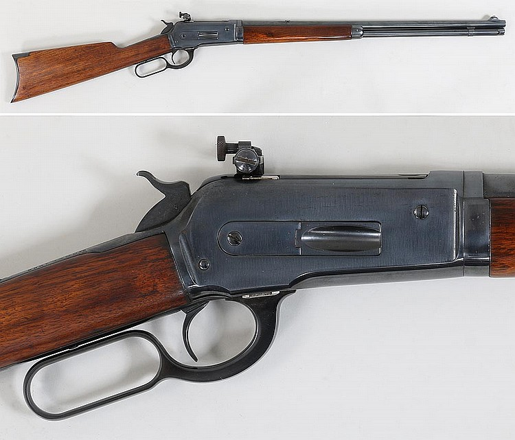 Winchester M1886 Take Down Lever Action Rifle
