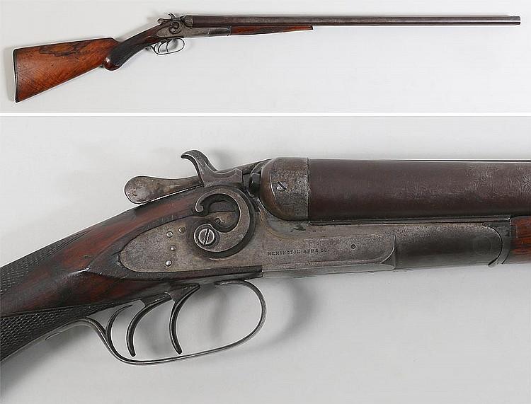 Remington Model 1889 Double Barrel Hammer Shotgun