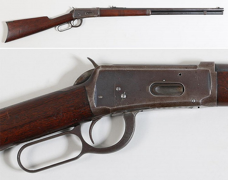 Winchester M 1894 Sporting Rifle in 38-35 cal.