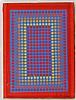 RICHARD JOSEPH ANUSZKIEWICZ (American, b. 1930), Richard Anuszkiewicz, $300