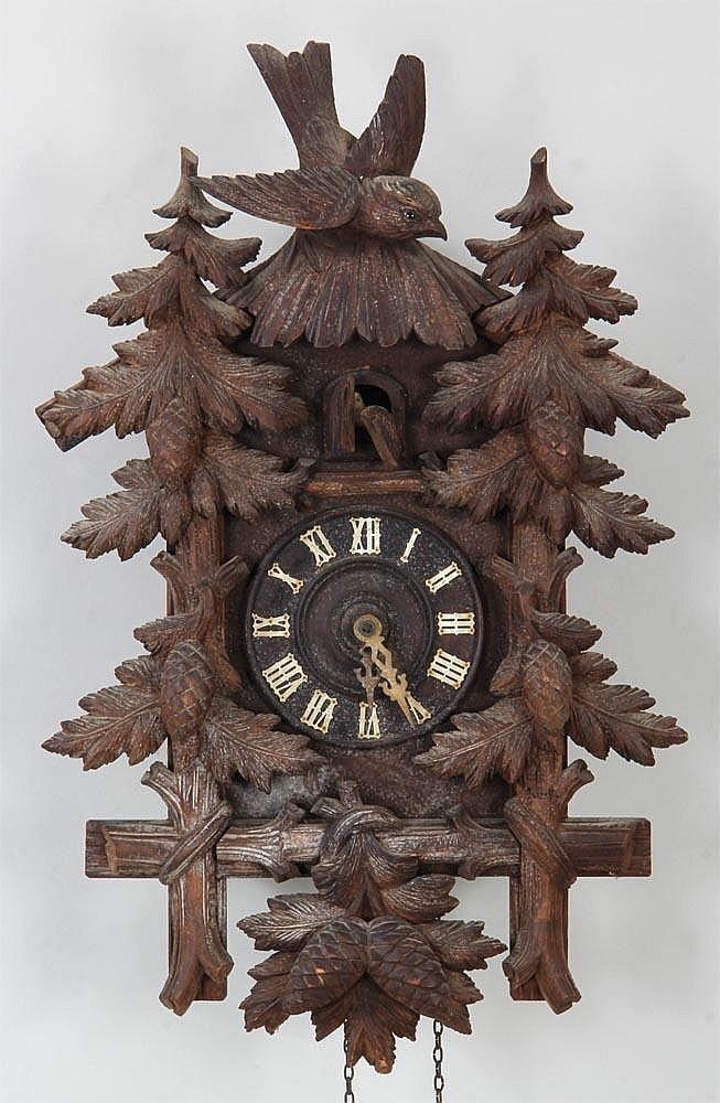 Wood coo coo clock - Coo coo clock pendulum ...