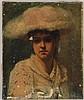 ELEANOR CUNNINGHAM BANNISTER (American, 1858-1939), Eleanor Cunningham Bannister, $100