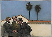 HARVEY DINNERSTEIN (American, b.1928)