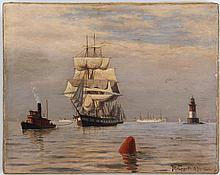 JOHAN PETER EGGERS (Swedish, 1855-1907)