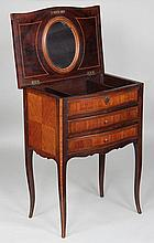 Small inlay decorated dressing table