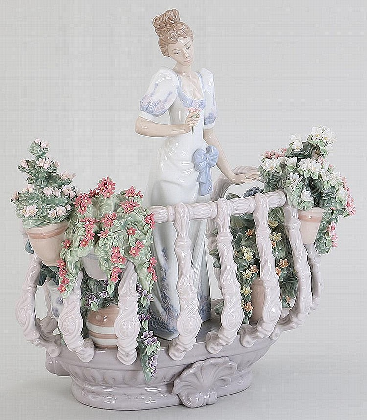 Lladro porcelain figure 39 39 far away thought 39 39 - Consider including lladro porcelain figurines home decoration ...