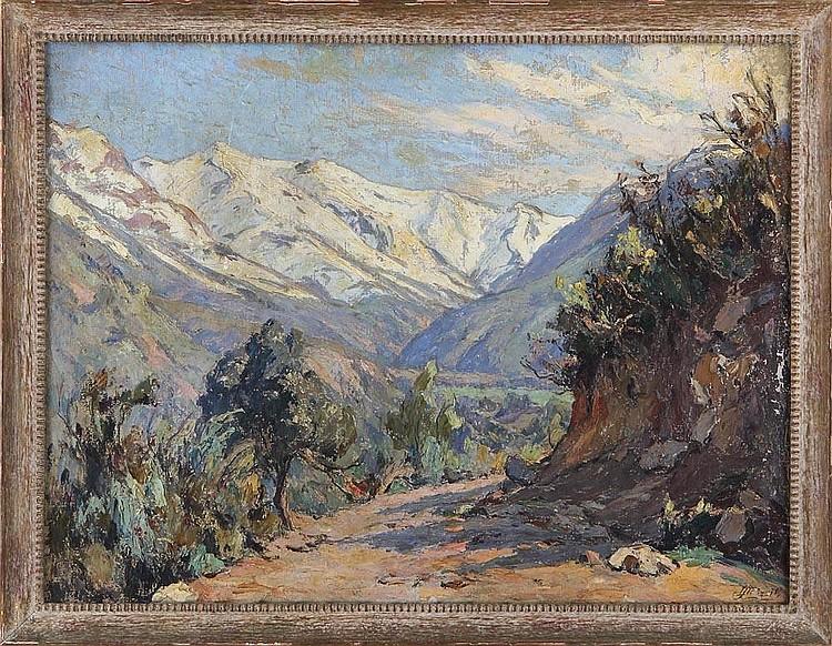 LUIS STROZZI-MAUGUET (Chilean, 1895-1967)