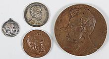 Group of (4) Lincoln medals