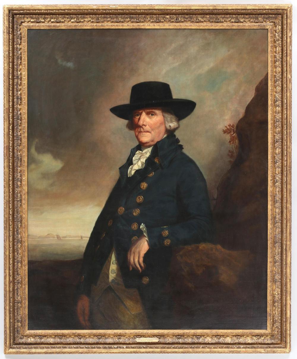 Portrait of Captain William Hansford, R.N.