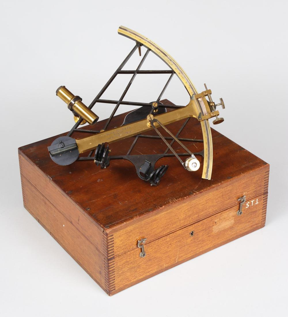 Thomas Wegener brass sextant