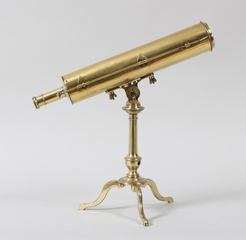 French reflecting telescope