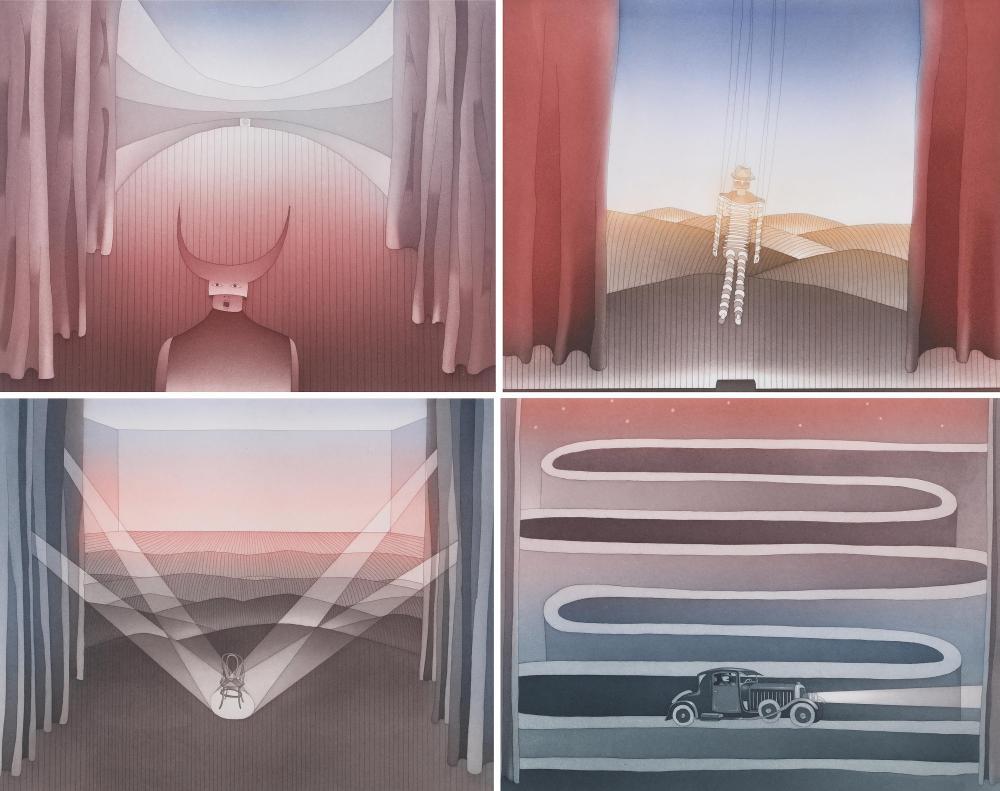 JEAN-MICHEL FOLON boxed portfolio