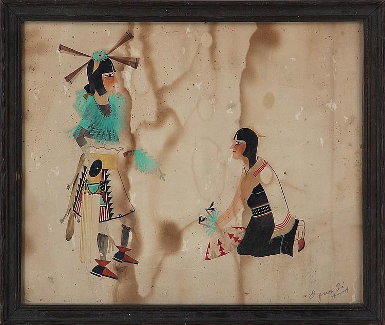 ABEL (OQWA PI) SANCHEZ (San Ildefonso Pueblo, New