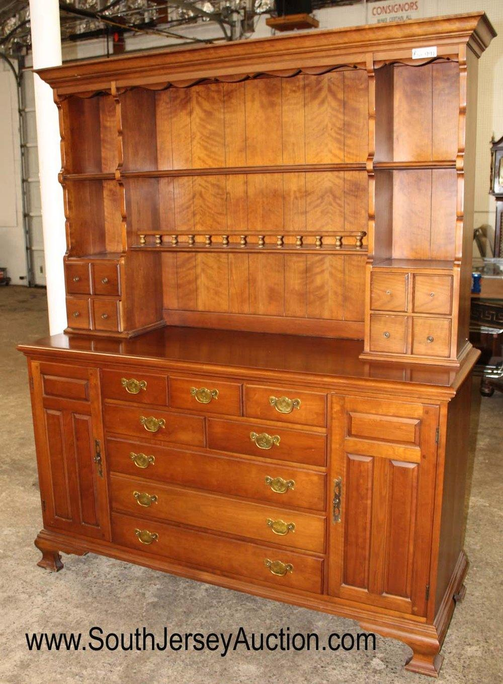 Sold Price Vintage Solid Cherry 2 Piece Hutch By Pennsylvania House Furniture Invalid Date Edt