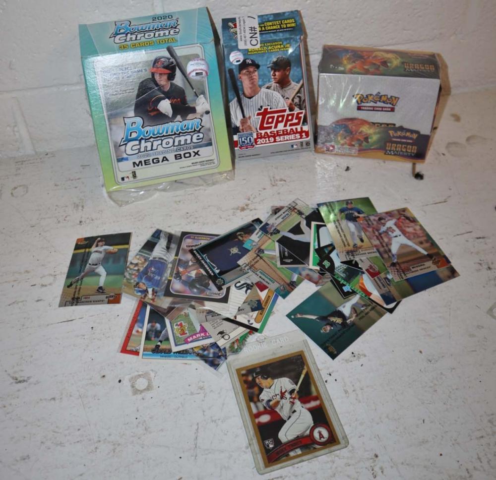 Lot of sports cards and Pokémon