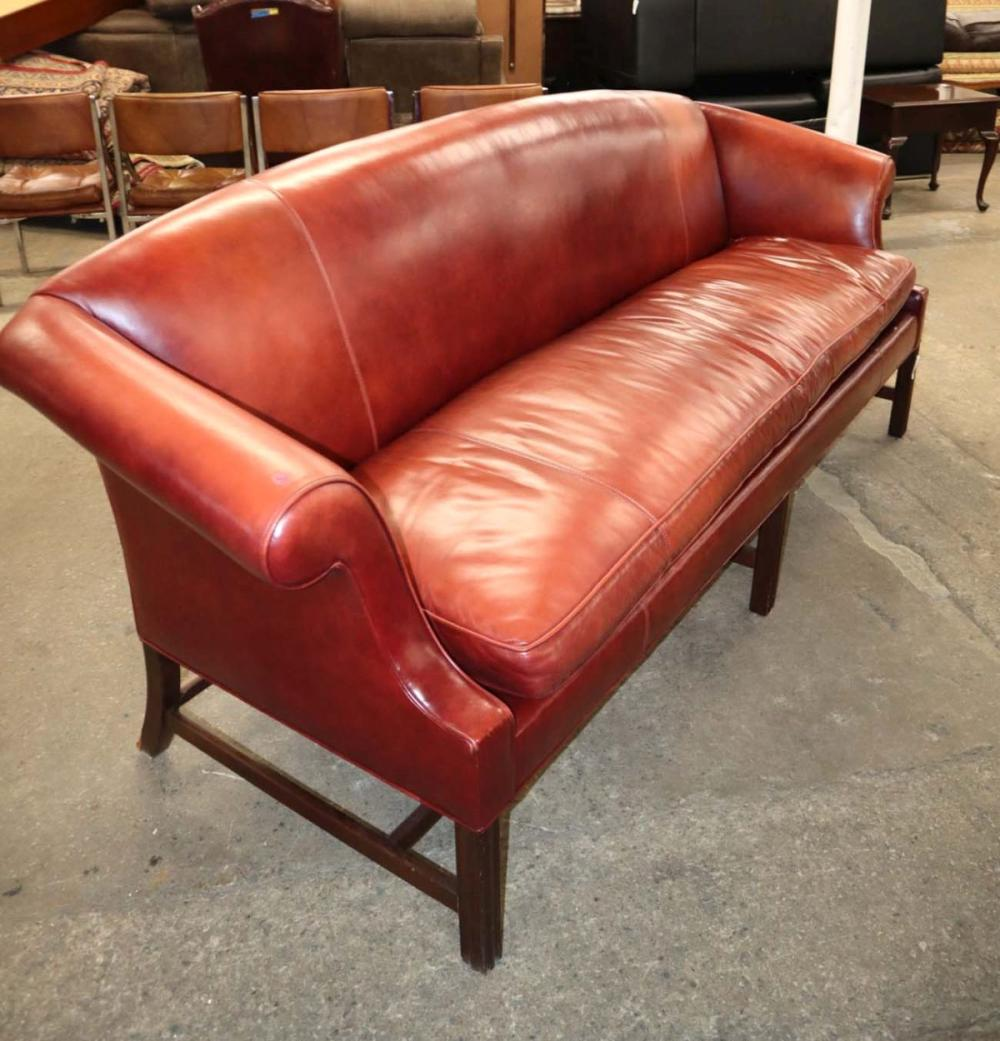 Awesome Stickley leather sofa