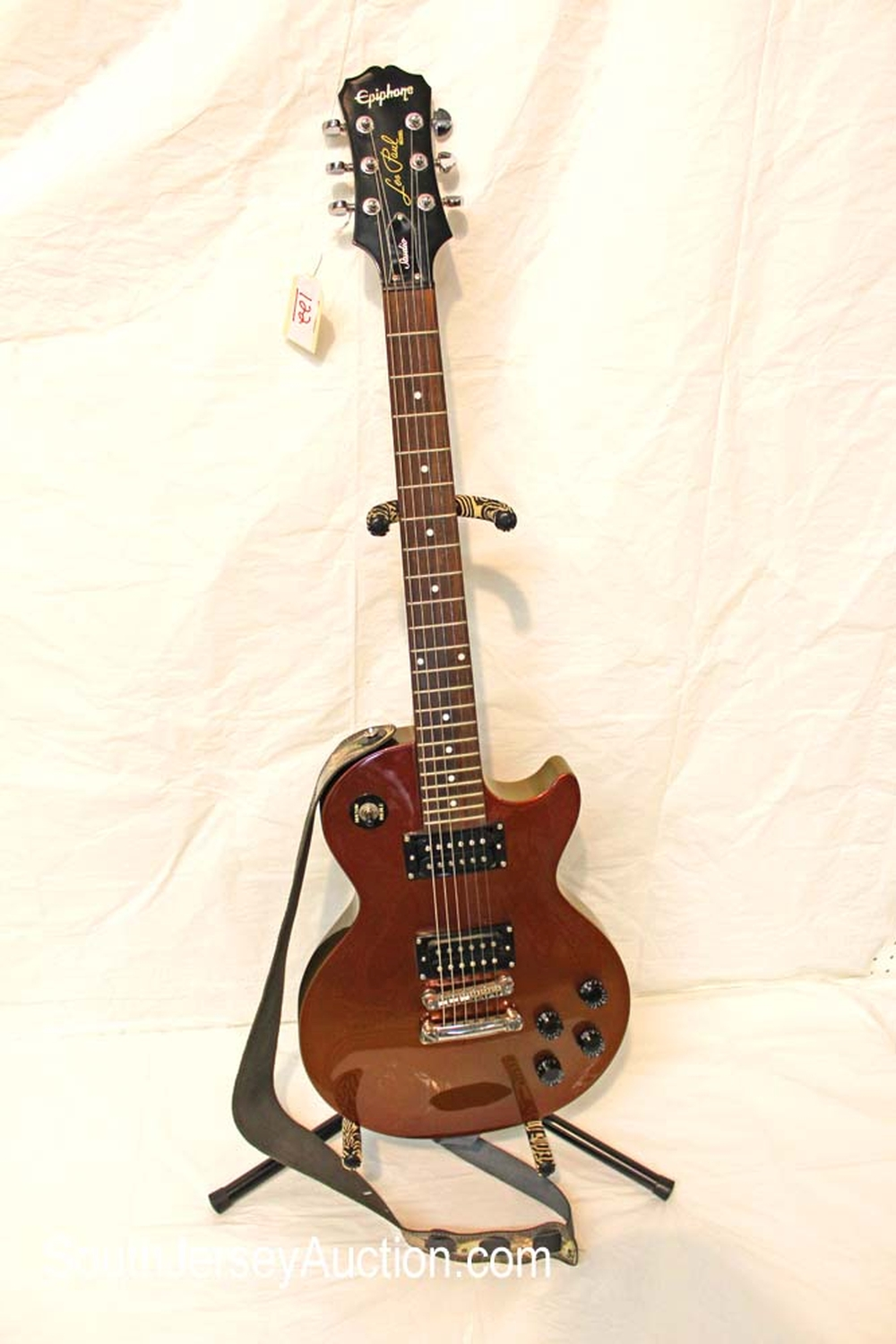 2007 Epiphone  Studio Les Paul guitar, in the Chameleon Copper color, Limited Edition Custom Shop, RARE grover tuners, set neck, with rosewood fret board, and strap, s/n EE070309048, excellent shape