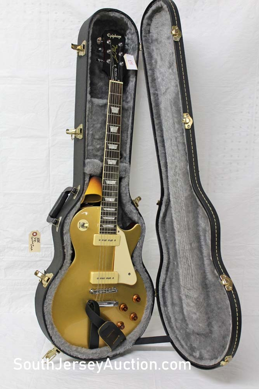 2006 Epiphone 1956 gold top color, reissue P90, grover tuners, s/n ee061216027 very good condition