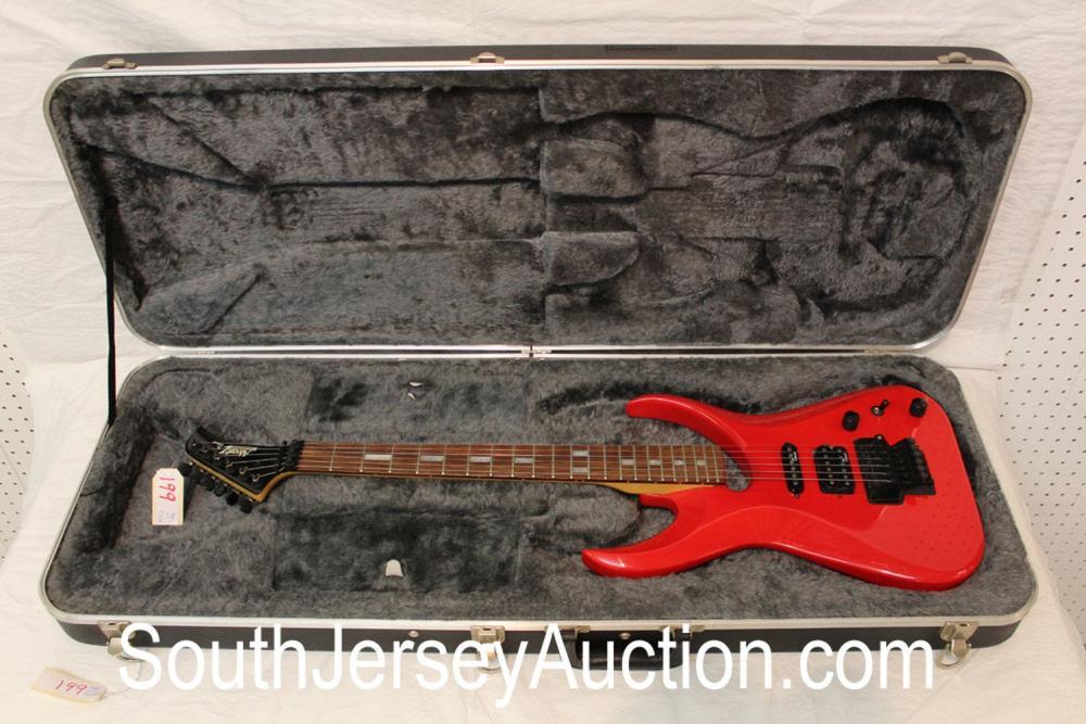 RARE Alverez Dana Scoop, made in Korea, in the red, s/n 920151 in good condition