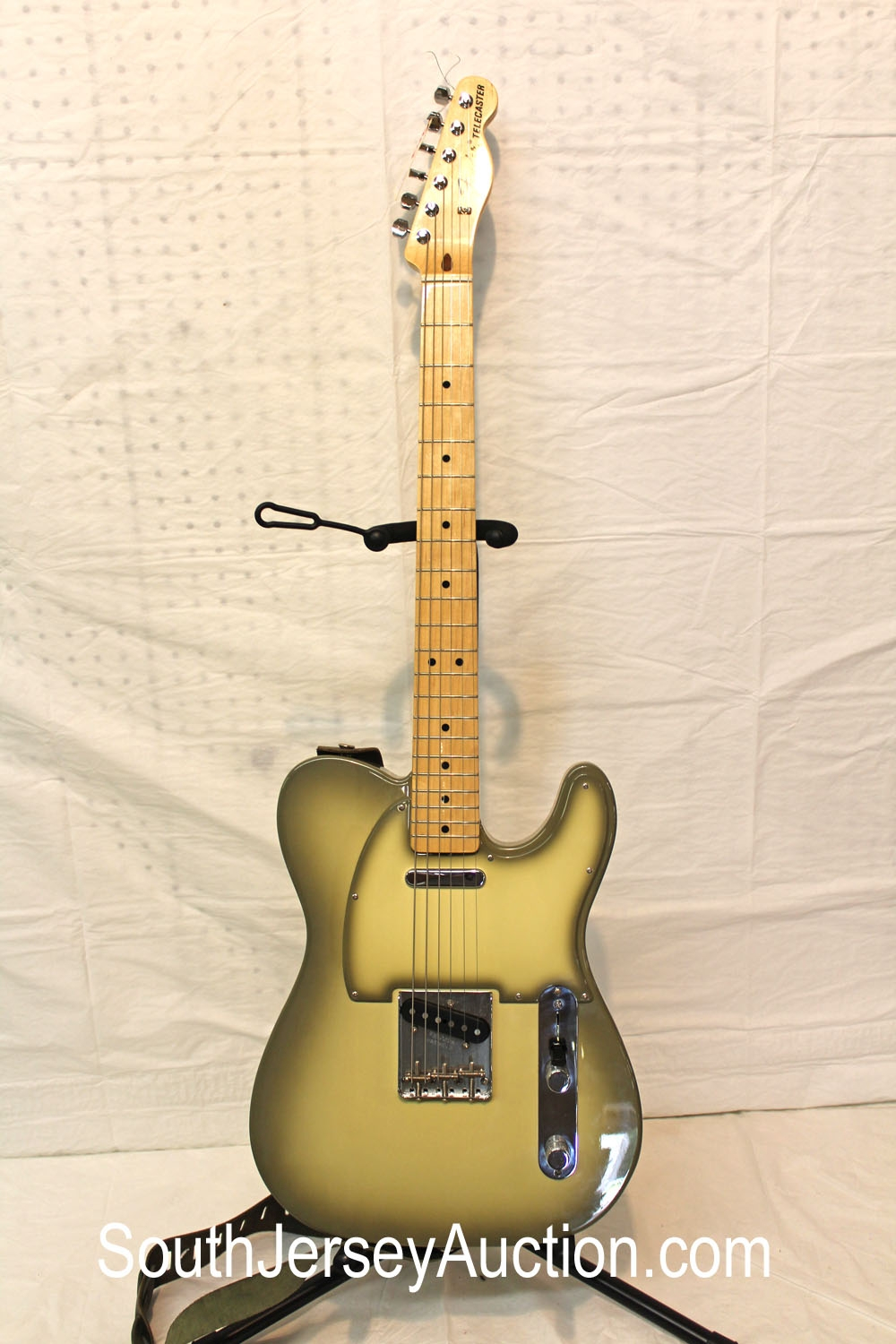 2011 Fender FSR Telecaster in the Odd Color of Antigua, made in Mexico, Special Edition, MX12101304, in very good condition and soft gig bag