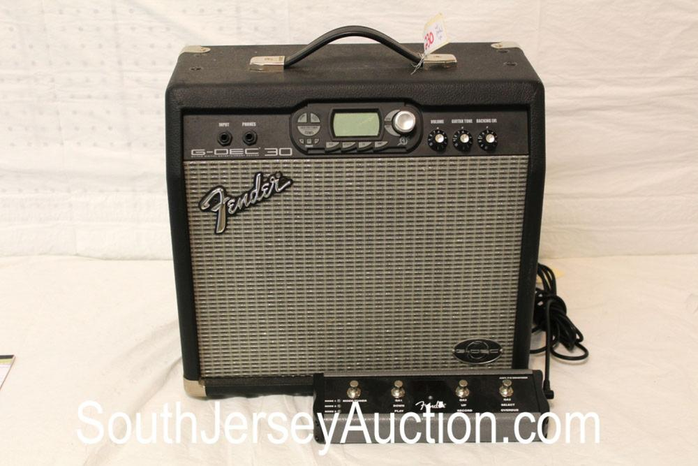 Fender G-DEC30 Portable Amp Transistor with foot pedal