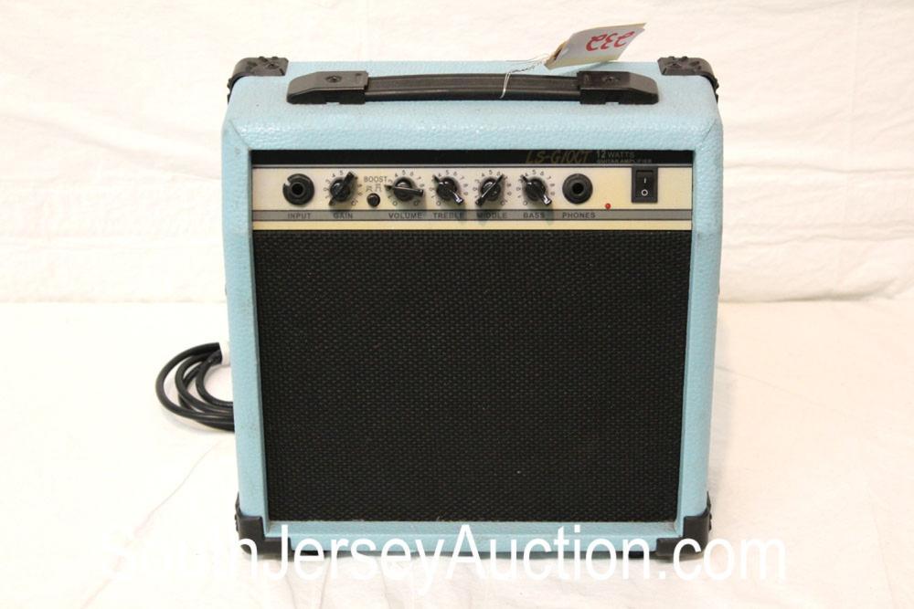 LS-GIOCT 12 Watt Guitar amplifier in the light blue tolex