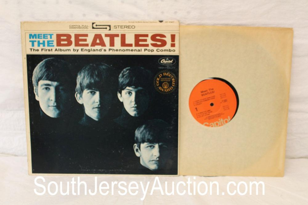 Vintage Meet the Beatles! The First Album by England's Phenomenal Pop Combo album in the original sleeve, in good condition