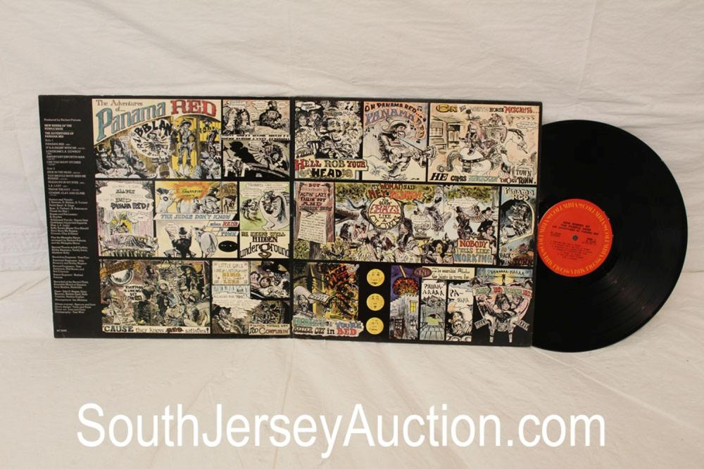 Vintage The Adventures of Panama Red New Riders album in original sleeve in good condition