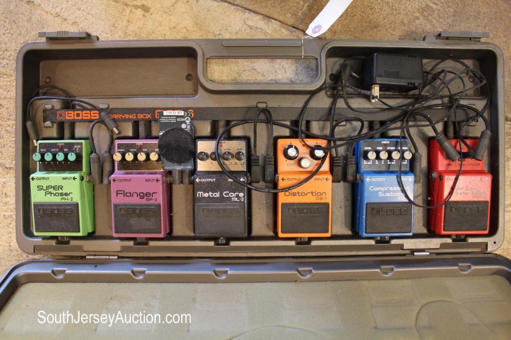 Plastic case of BCB-6 pedals, condition good