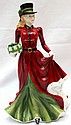 Royal Doulton Pretty Ladies Christmas Day 2006 Hand Made Figure