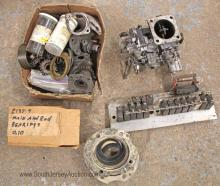 Misc. Airplane Parts: Gears, Gaskets, Bearings, Carburetor - Believed to be for 1947 Ryan Navion E185 Airplane