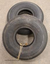 Pair of Tires Believed to be for 1947 Ryan Navion E185 Airplane