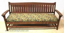 Antique Mission Oak Sofa with Tag