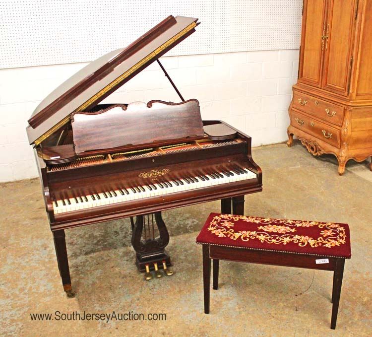 Nice 39 Chickering 39 Solid Mahogany Baby Grand Piano Apartment