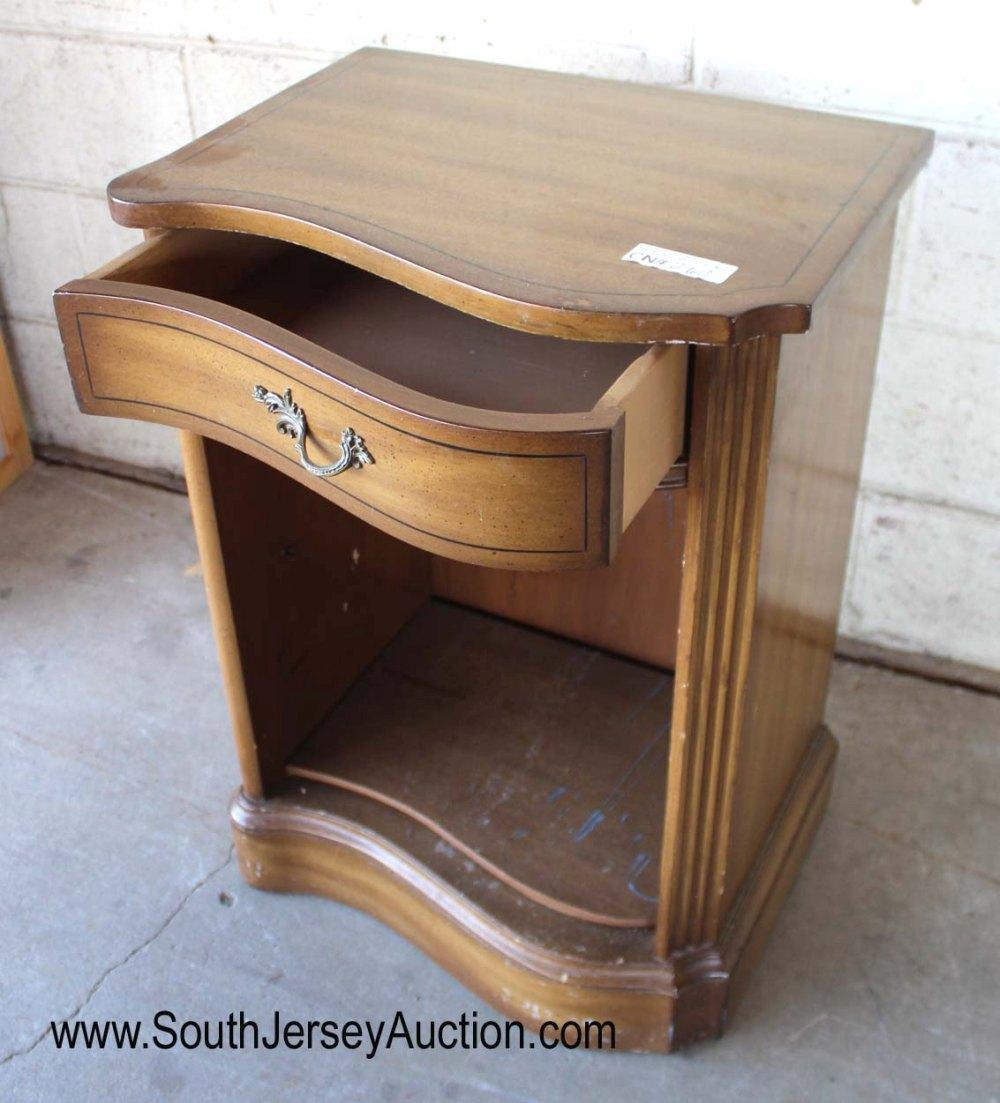 Vintage Mahogany One Drawer Night Stand
