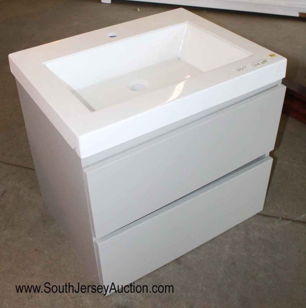 "New 24"" Floating Bathroom Vanity with Sink"