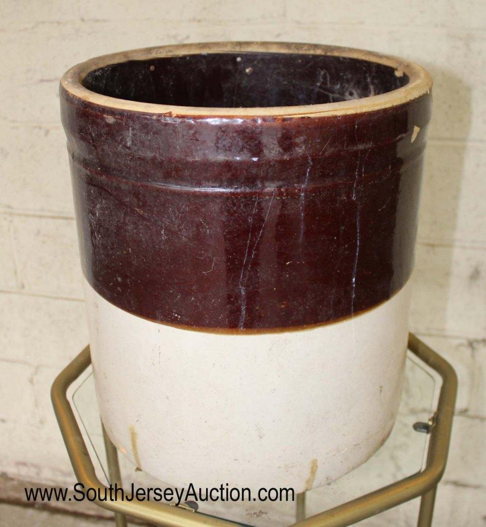 Antique 2 Tone 6 Gallon Crock