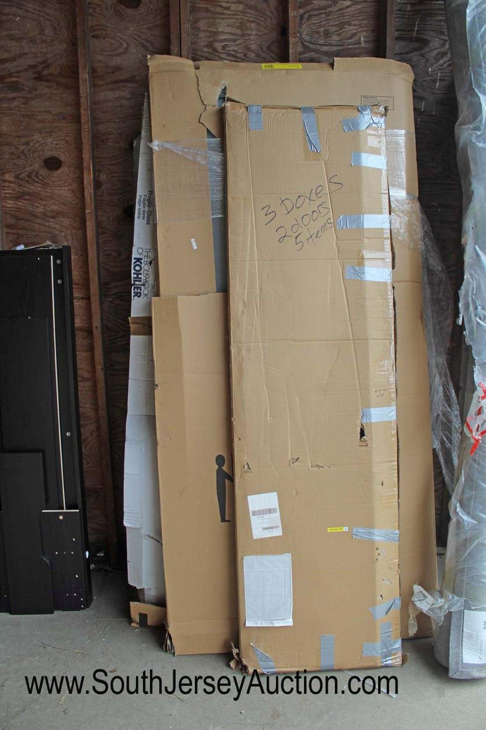 Mix Lot of Bathroom Shower Doors with Model Numbers Photo - No Guarantee of all Parts or Damage