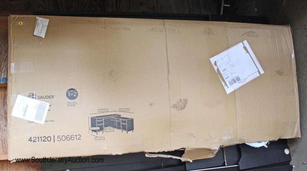 """You Put Together """"L"""" Shape Desk in Box - No Guarantee of Parts or Damage"""