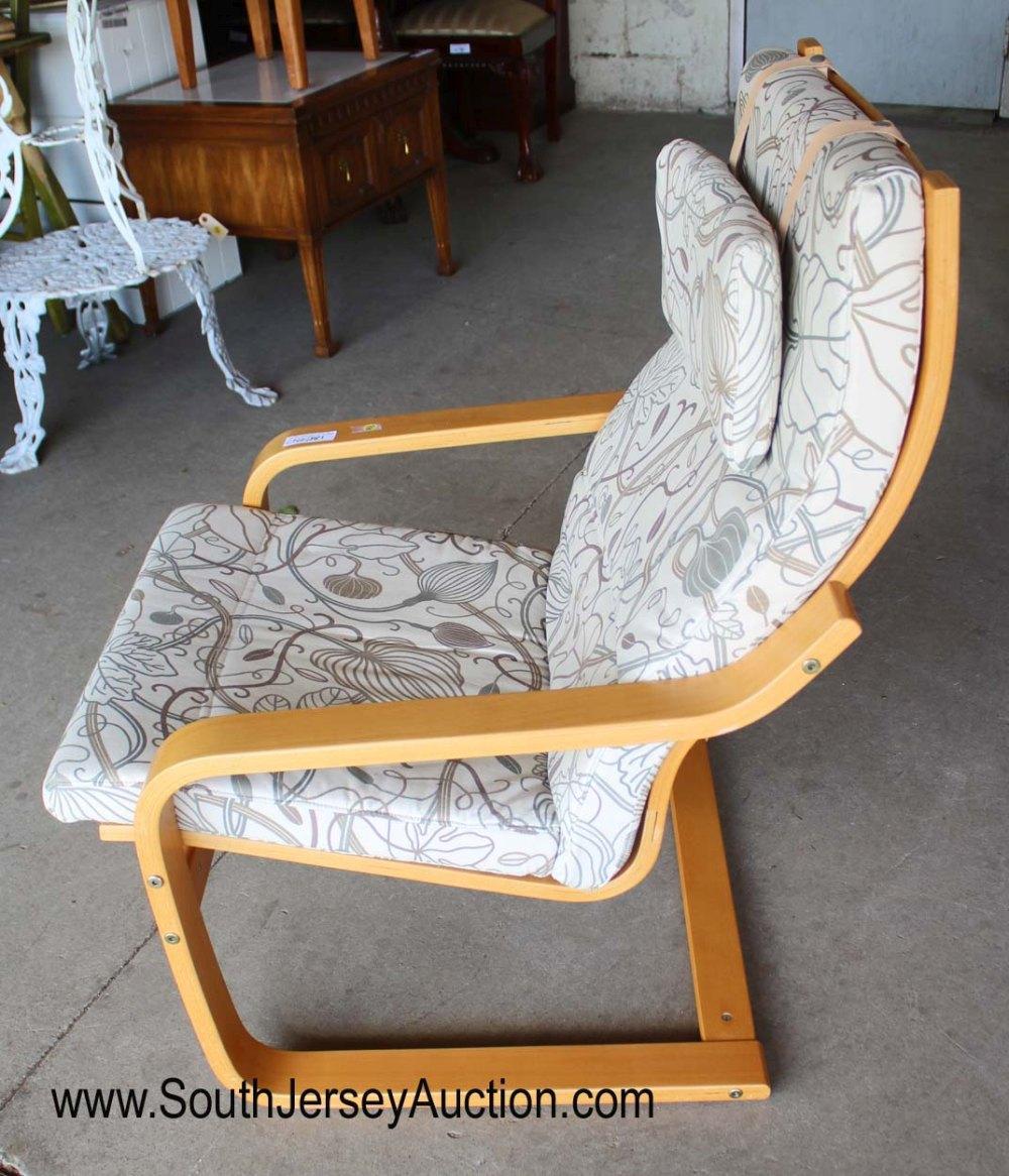 Modern design Bentwood laminated lounge chair