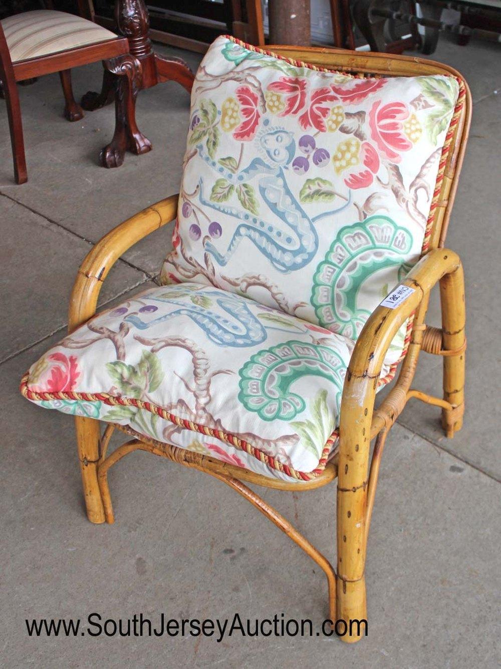 Vintage Rattan Bamboo Chair