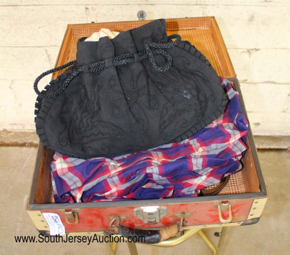 Vintage Doll Suitcase with Contents