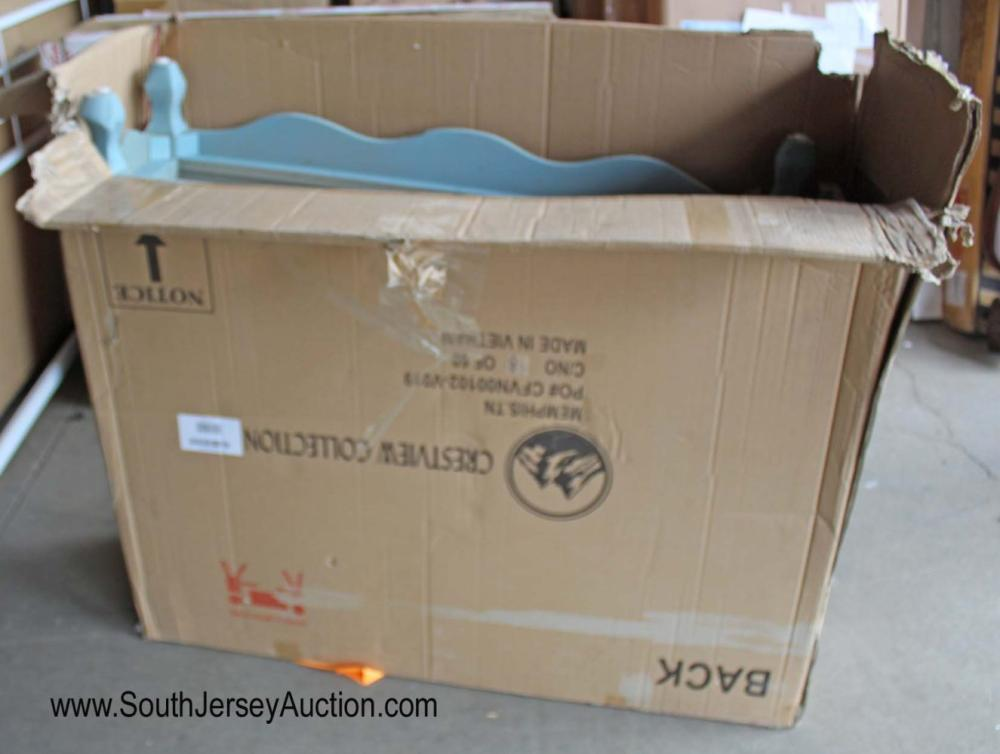 Paint Decorated Credenza in Box - As Is