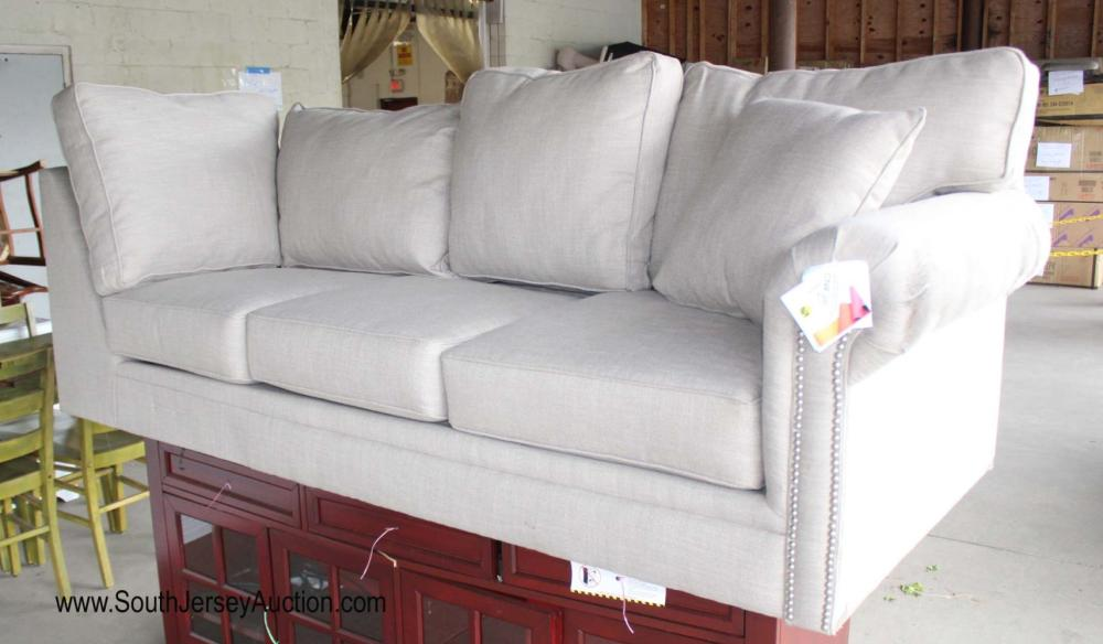 Upholstered Half Sofa - No Legs