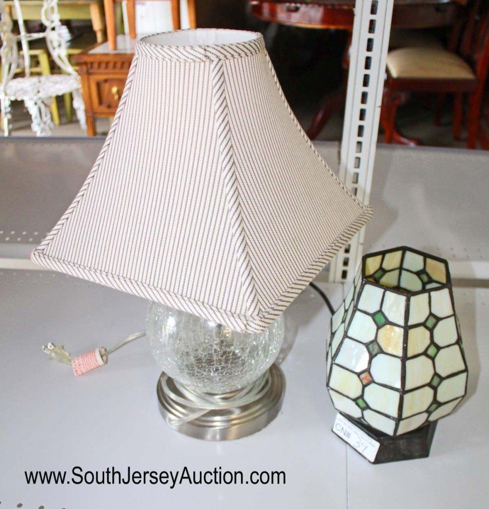 2 Piece Lamp lot