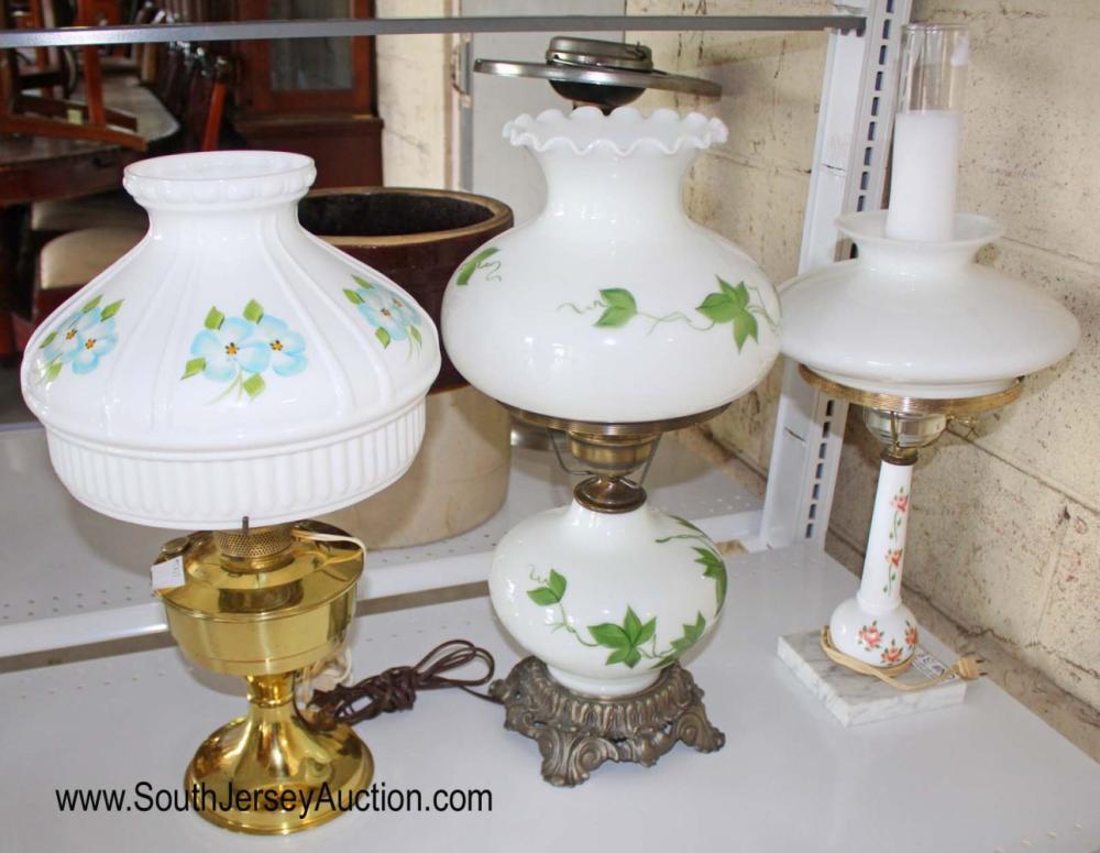 3 Piece lamp lot