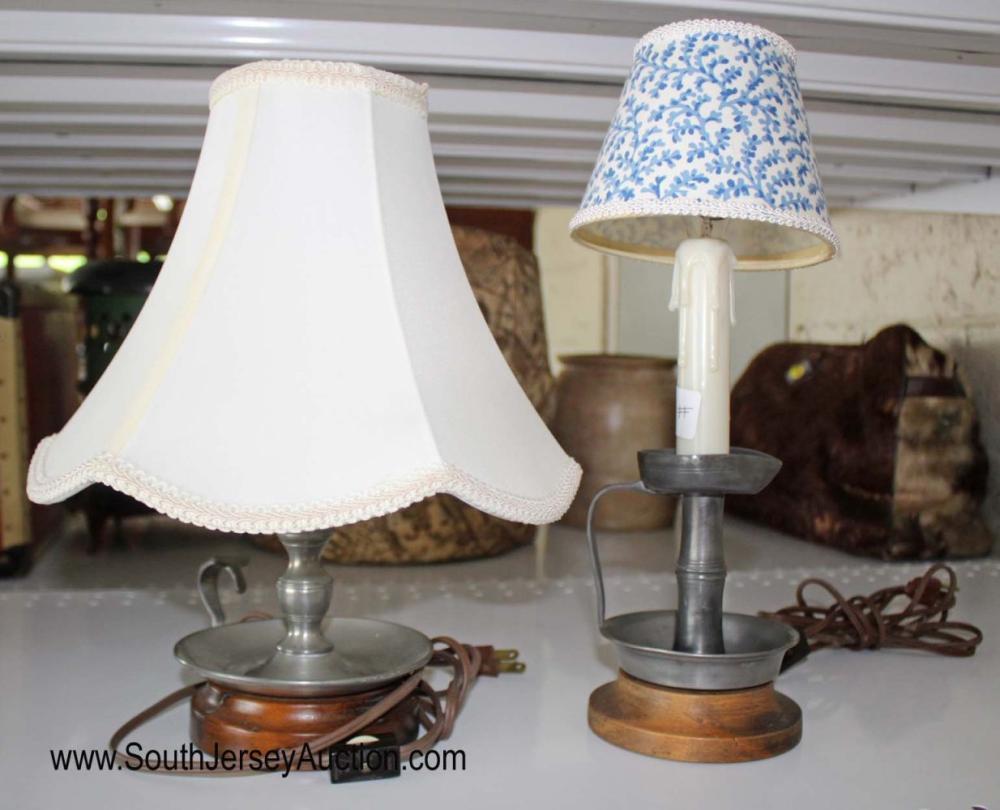 2 Piece finger lamp lot
