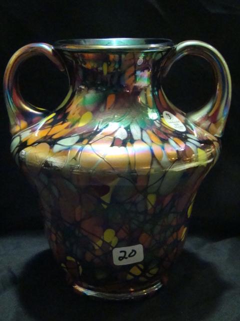 Centennial collection threaded mosaic George Fenton vase #214