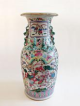 A 'Famille Rose' Vase 19th Century
