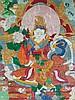 A Tibetan Thang Ka 19/20th Century